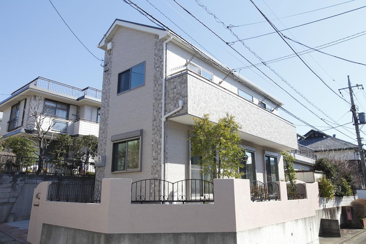 フレンチスタイルの家の画像